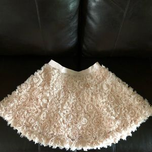 Forever 21 skirt size:27, baby pink. Used.